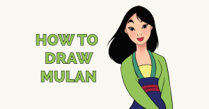 How to Draw Mulan Featured Image