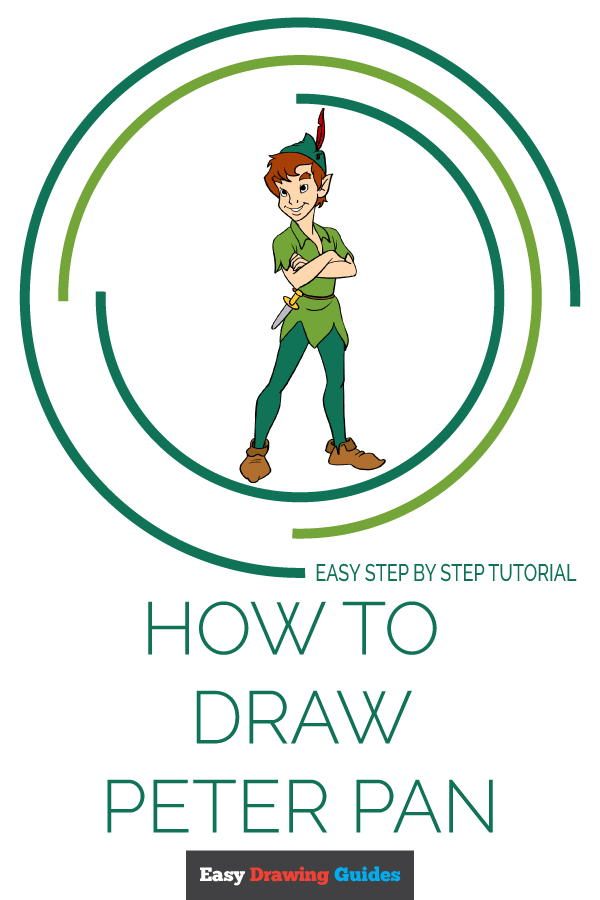 How to Draw Peter Pan Pinterest Image