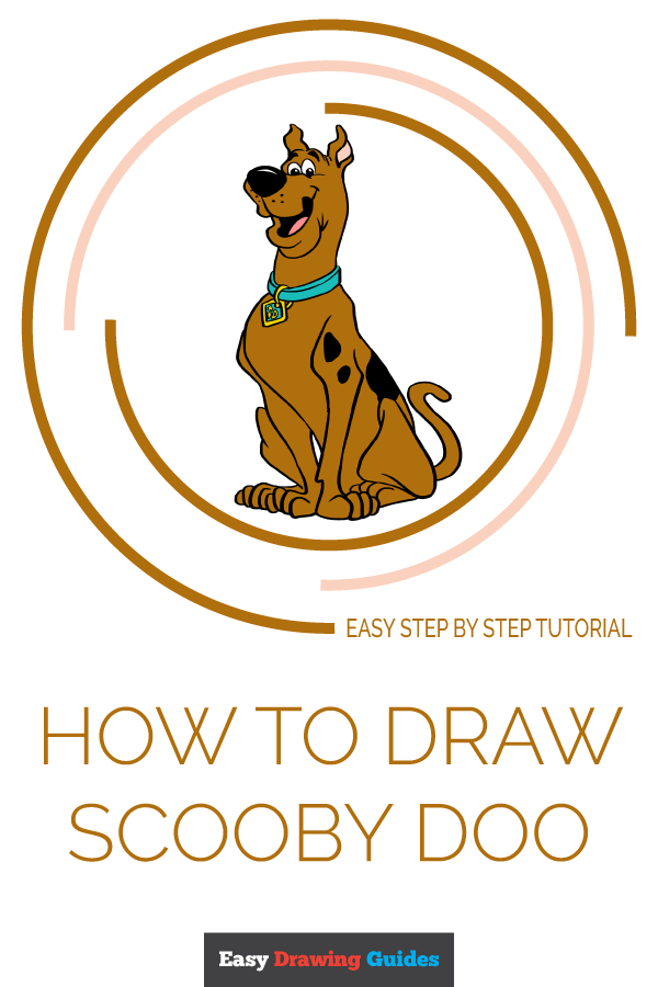 How to Draw Scooby Doo | Share to Pinterest