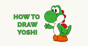How to Draw Yoshi Featured Image
