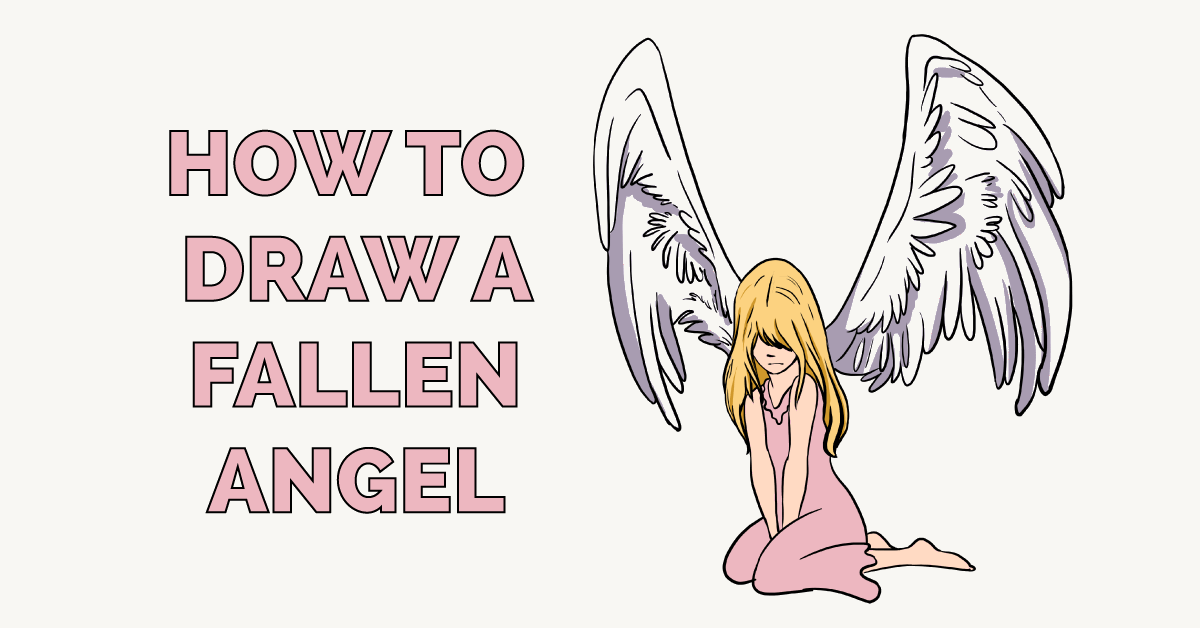 How to Draw a Fallen Angel Featured Image