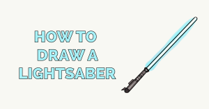 How to Draw a Lightsaber Featured Image