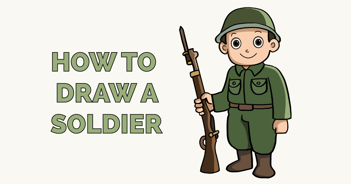 How to Draw a Soldier Featured Image