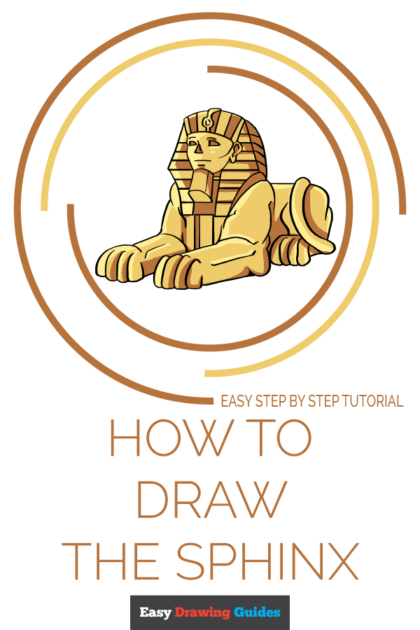 How to Draw Sphinx | Share to Pinterest