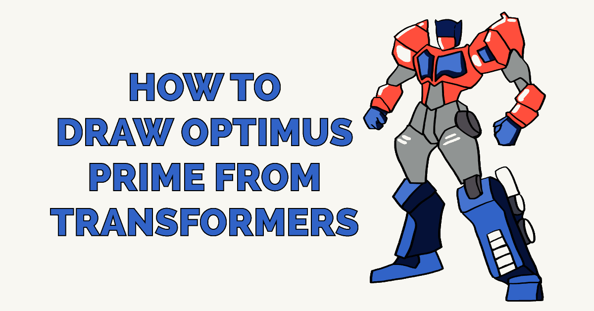How to Draw Optimus Prime from Transformers Featured Image
