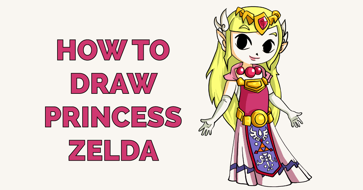 How to Draw Princess Zelda Featured Image