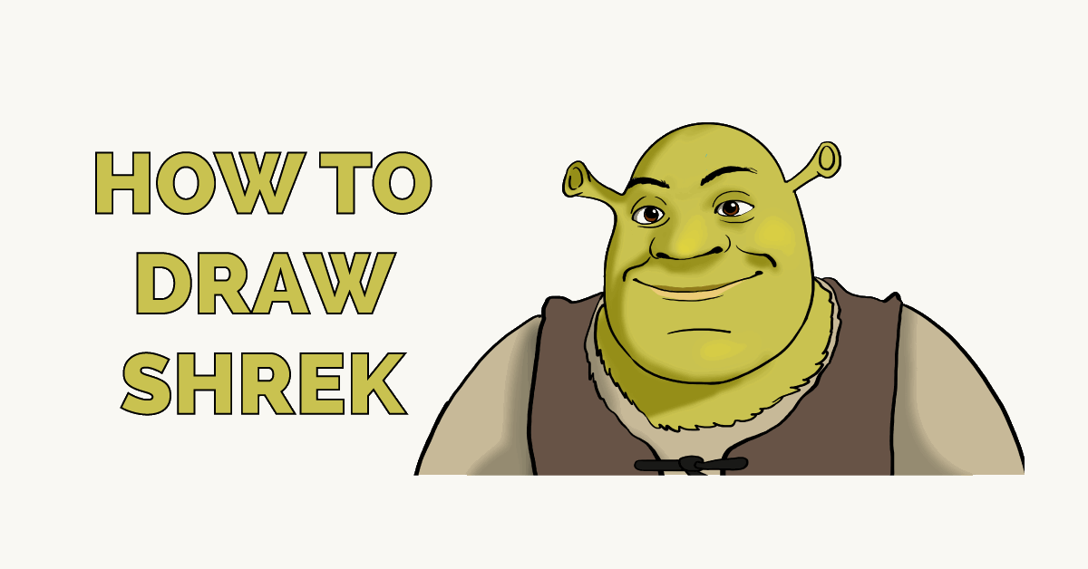 How to Draw Shrek Featured Image