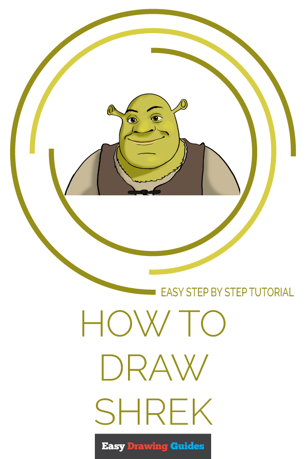 How to Draw Shrek | Share to Pinterest