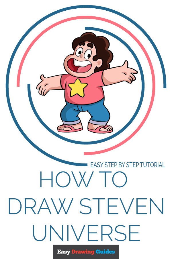 How to Draw Steven Universe | Share to Pinterest