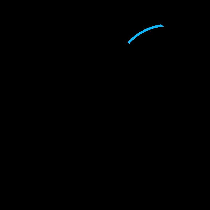 How to Draw a Beach Ball Step 6