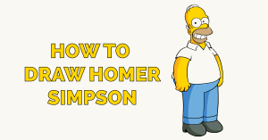 How to Draw Homer Simpson Featured Image