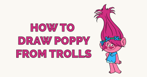 How to Draw Poppy from Trolls Featured Image