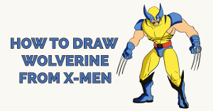 How to Draw Wolverine from X-Men Featured Image