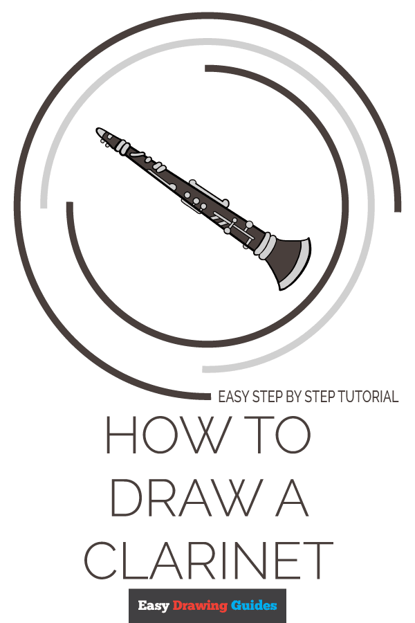 How to Draw Clarinet | Share to Pinterest