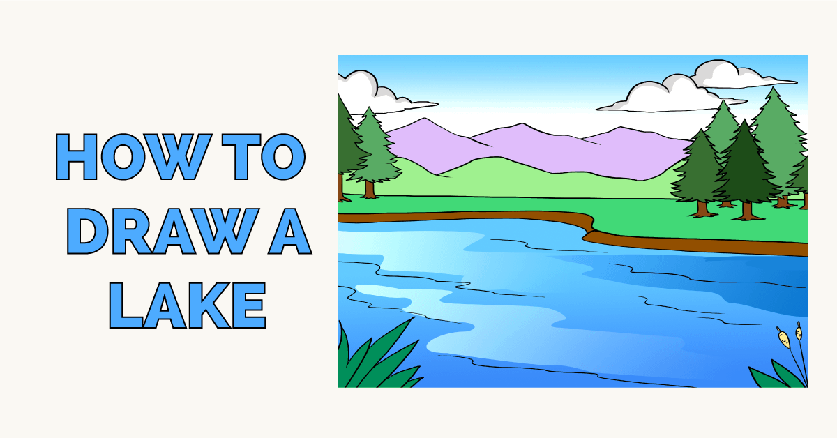How to Draw a Lake Featured Image