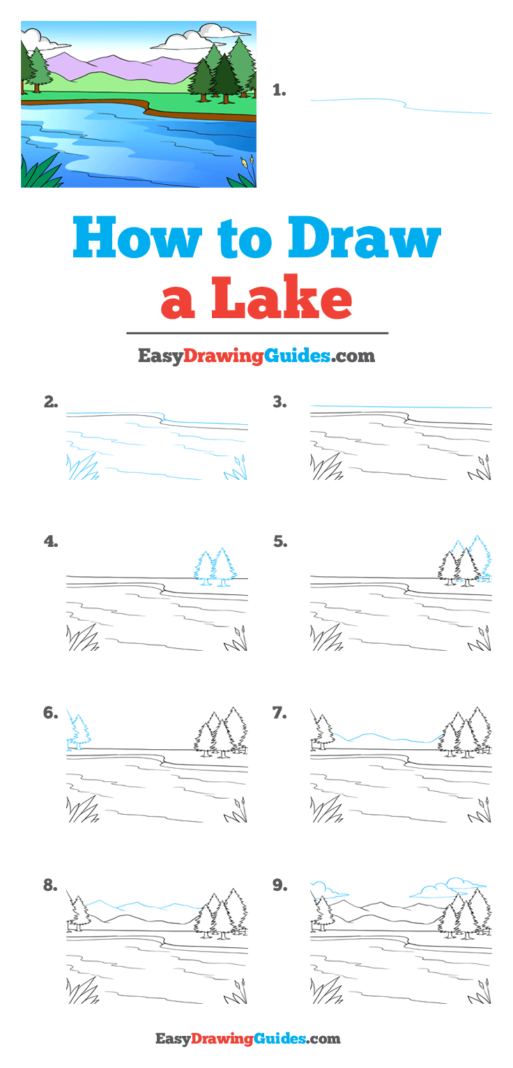 How to Draw Lake