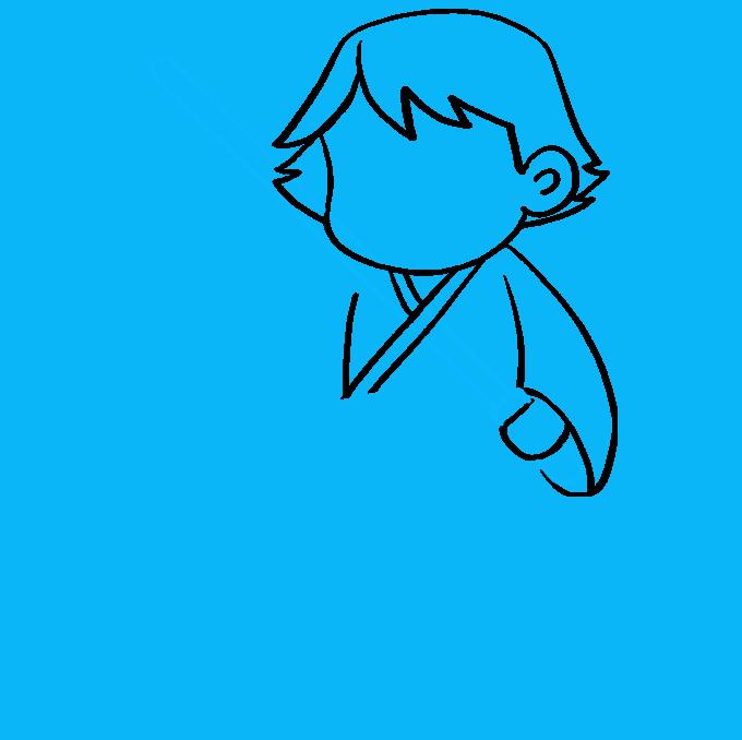 How to Draw Luke Skywalker: Step 5