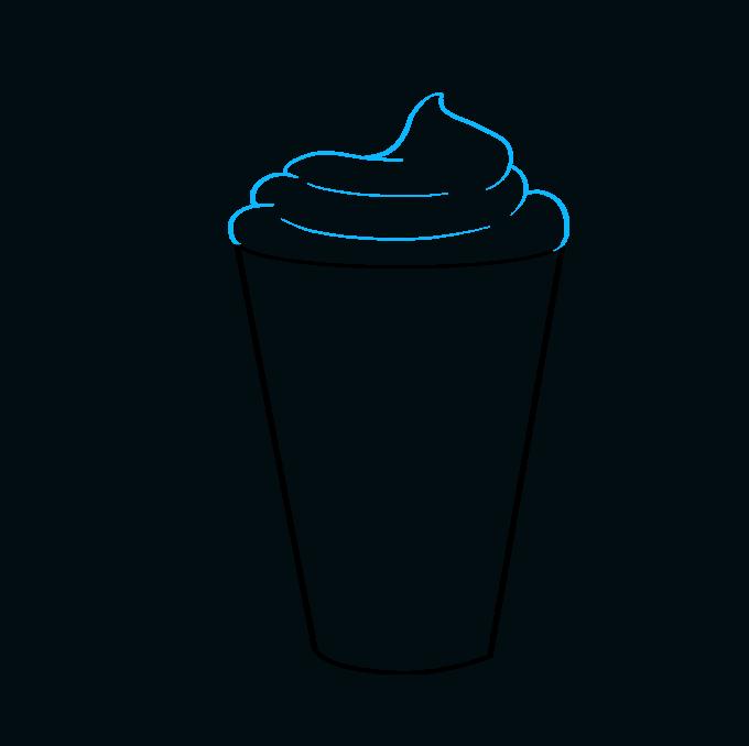 How to Draw Milkshake: Step 3