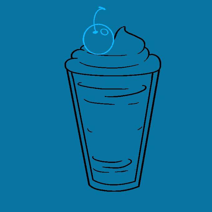 How to Draw Milkshake: Step 5