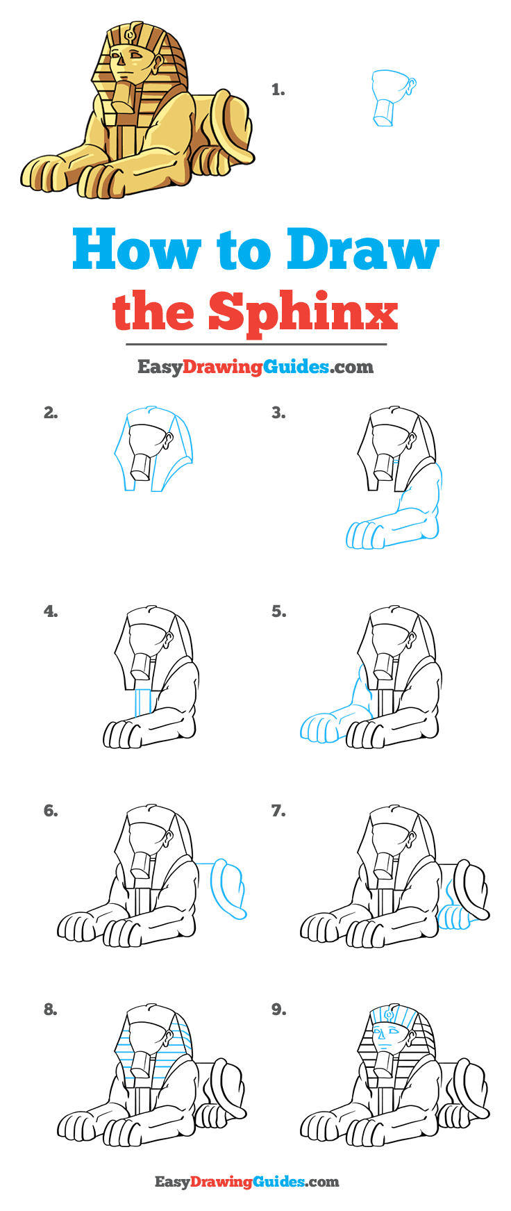 How to Draw Sphinx
