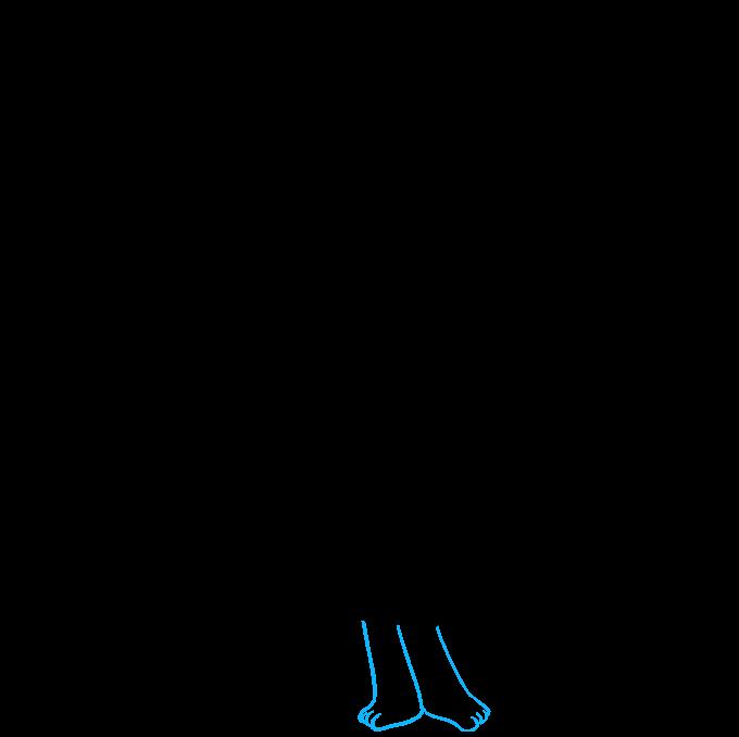 How to Draw Poppy from Trolls Step 8