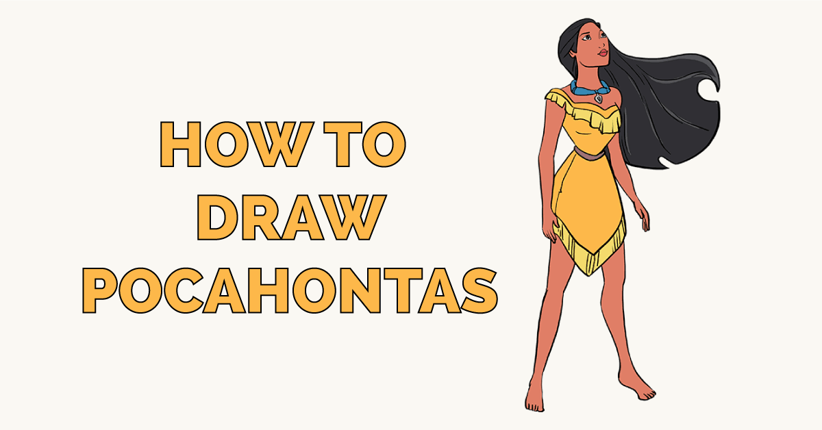 How to Draw Pocahontas Featured Image