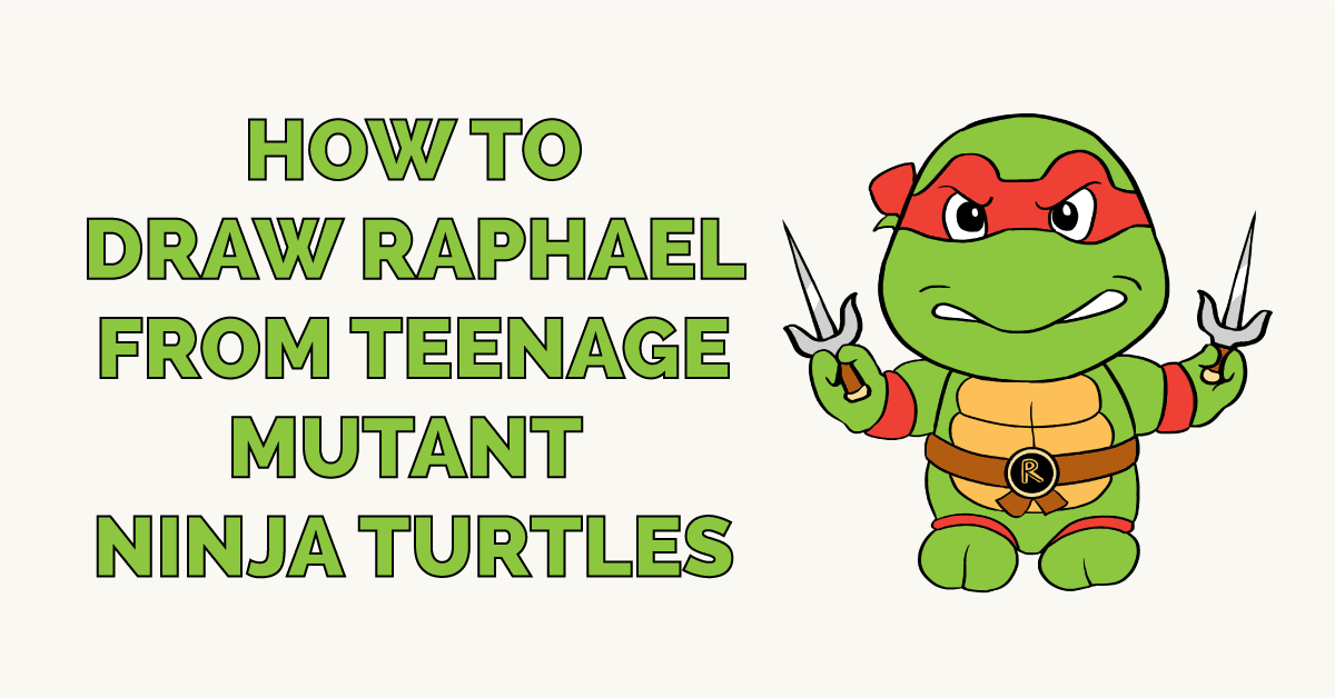 How to Draw Raphael from Teenage Mutant Ninja Turtles Featured Image