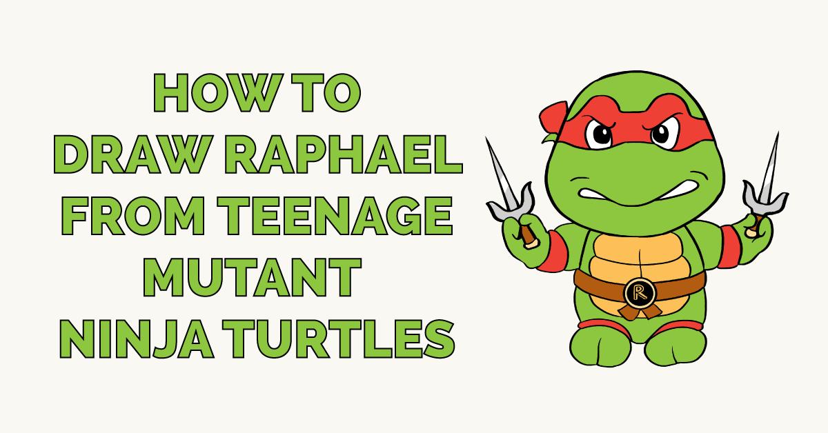 How To Draw Raphael From Teenage Mutant Ninja Turtles Really