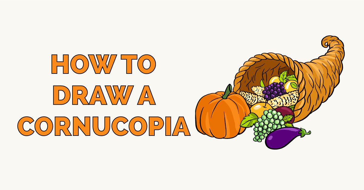 How to Draw a Cornucopia Featured Image