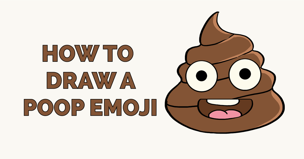 How to Draw a Poop Emoji Featured Image