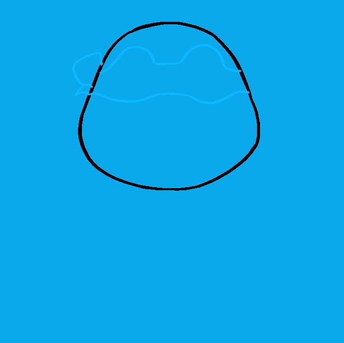How to Draw Raphael from Teenage Mutant Ninja Turtle Step 03
