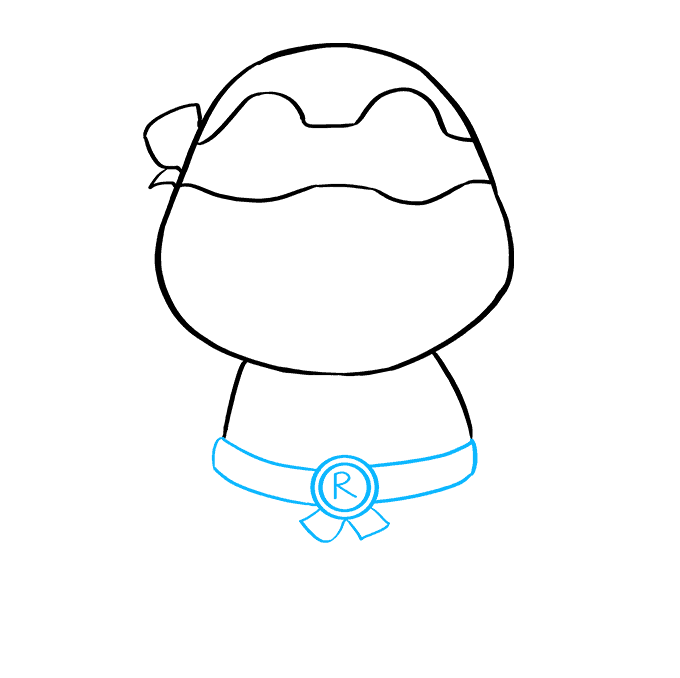 How to Draw Raphael from Teenage Mutant Ninja Turtle Step 05