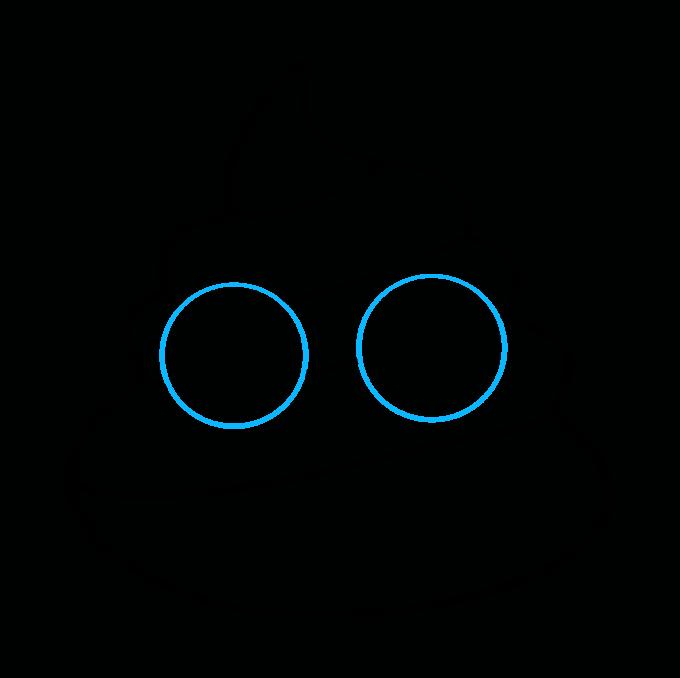 How to Draw Poop Emoji: Step 5