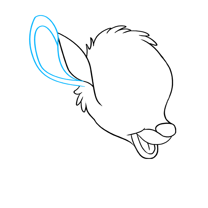 How to Draw Bambi: Step 7