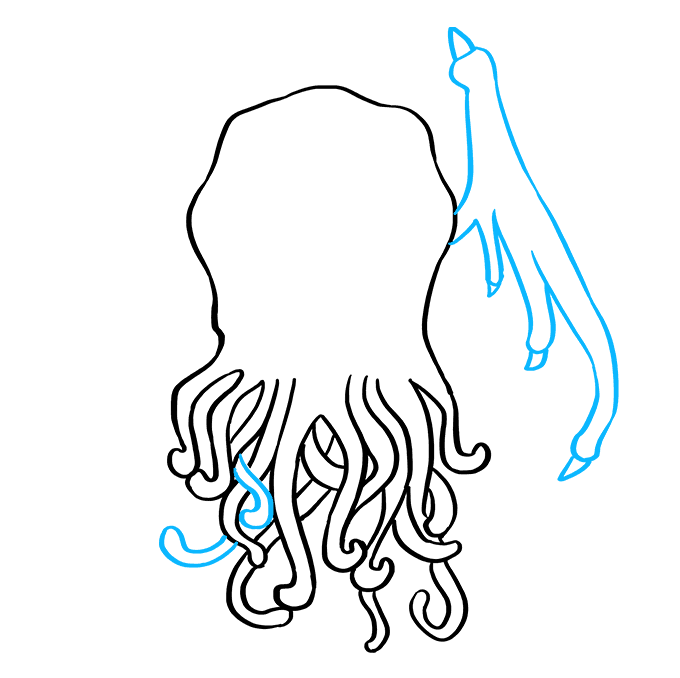 How to Draw Cthulhu: Step 8