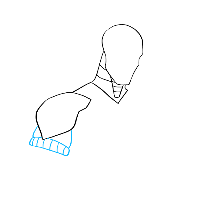 How to Draw Deathstroke: Step 4