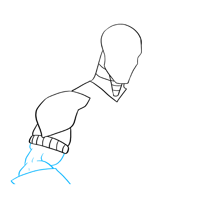 How to Draw Deathstroke: Step 5