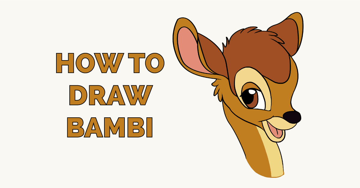 How to Draw Bambi Featured Image