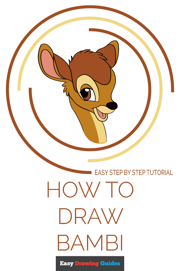 How to Draw Bambi | Share to Pinterest