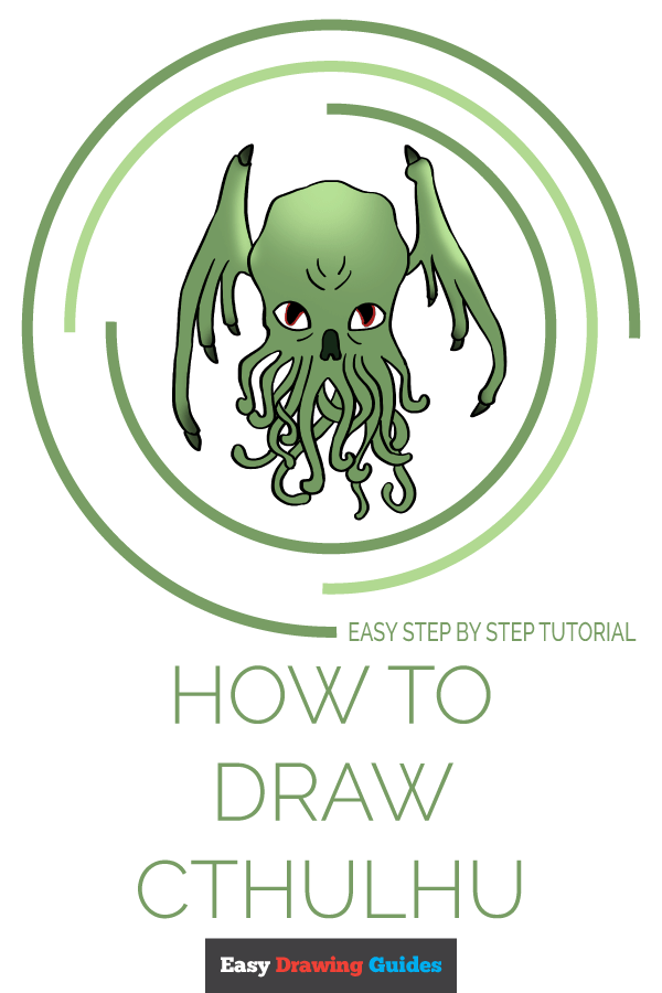 How to Draw Cthulhu | Share to Pinterest