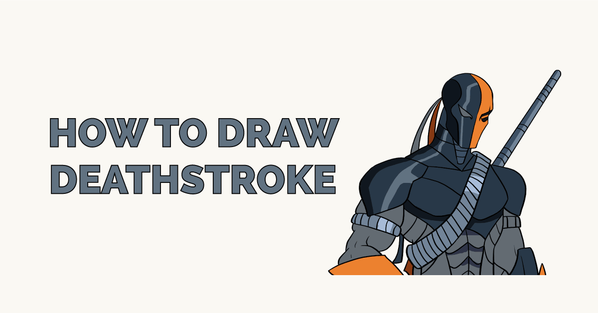 How to Draw Deathstroke Featured Image