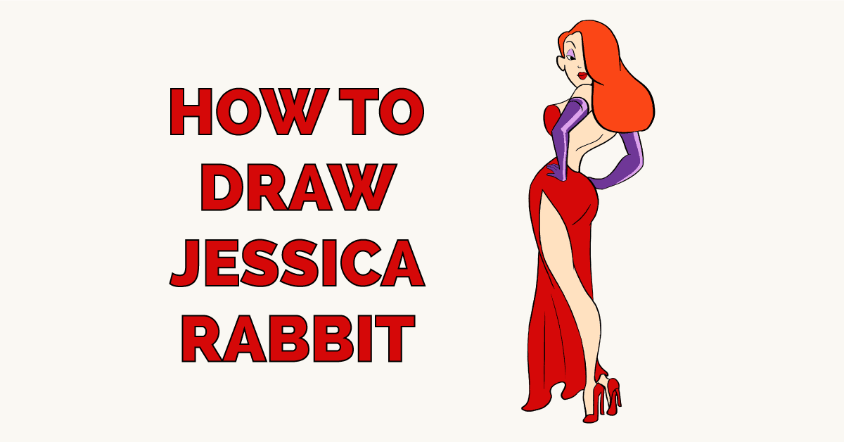How to Draw Jessica Rabbit Featured Image