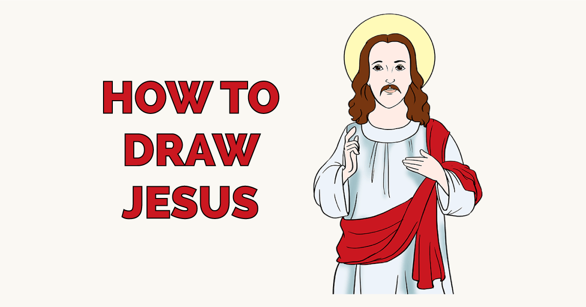 How to Draw Jesus Featured Image