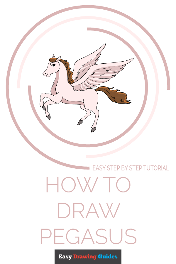 How to Draw Pegasus | Share to Pinterest