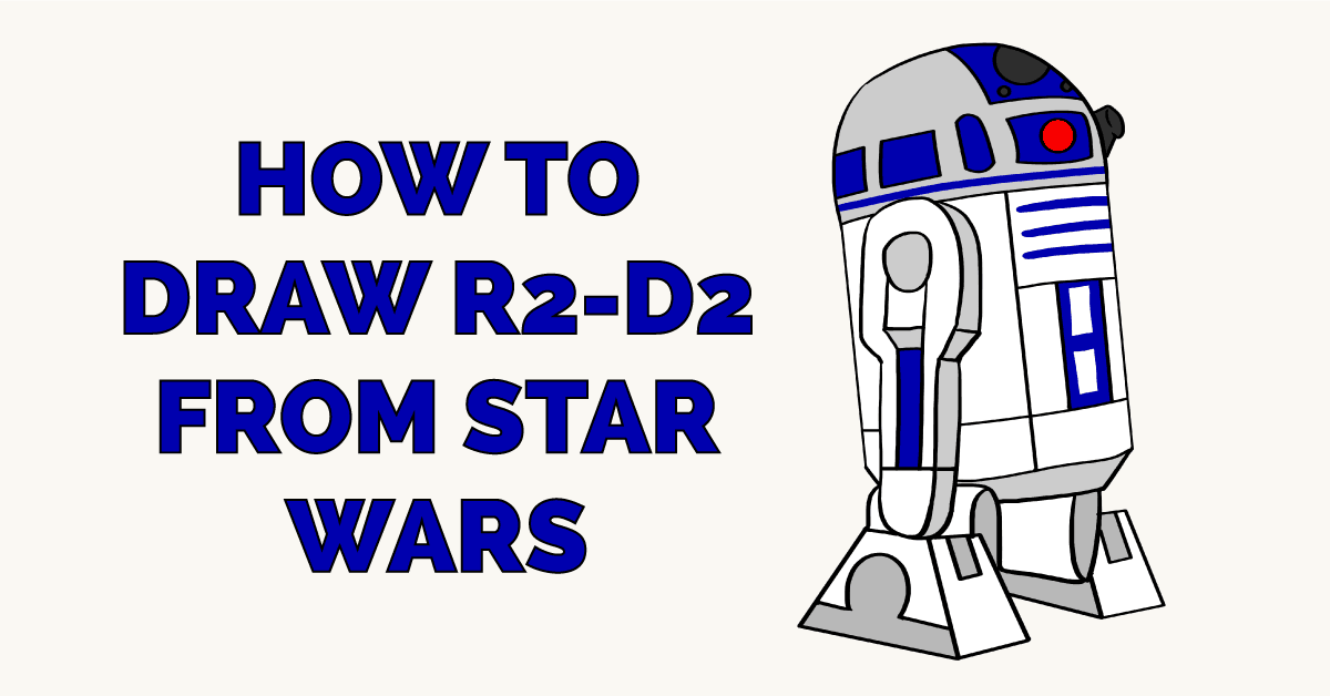 How to Draw R2-D2 from Star Wars Featured Image