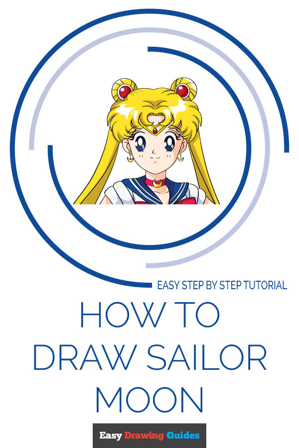 How to Draw Sailor Moon | Share to Pinterest
