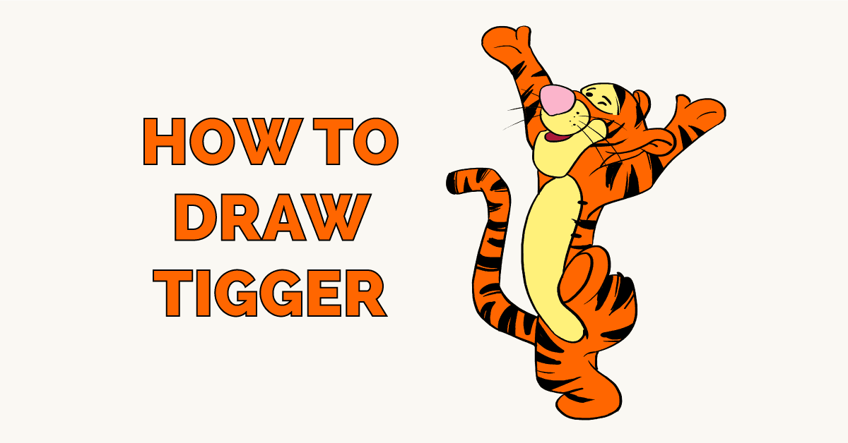 How to Draw Tiger Featured Image