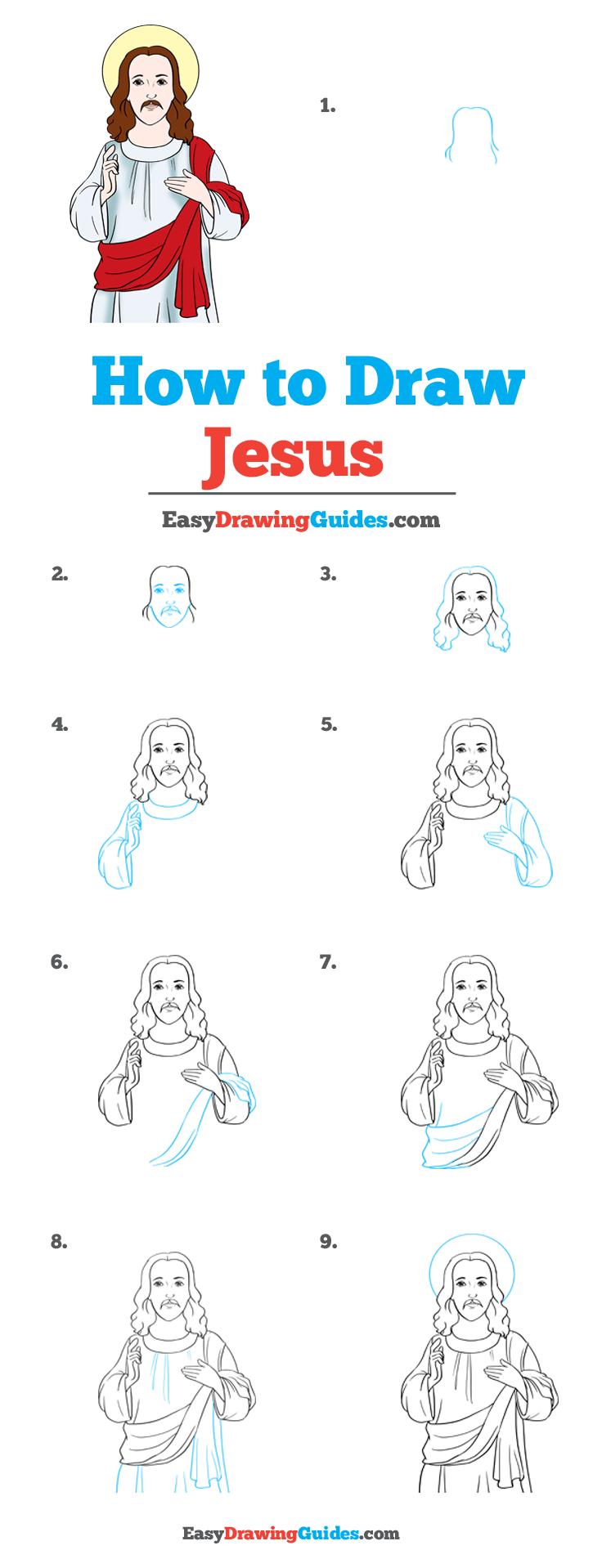 How to Draw Jesus