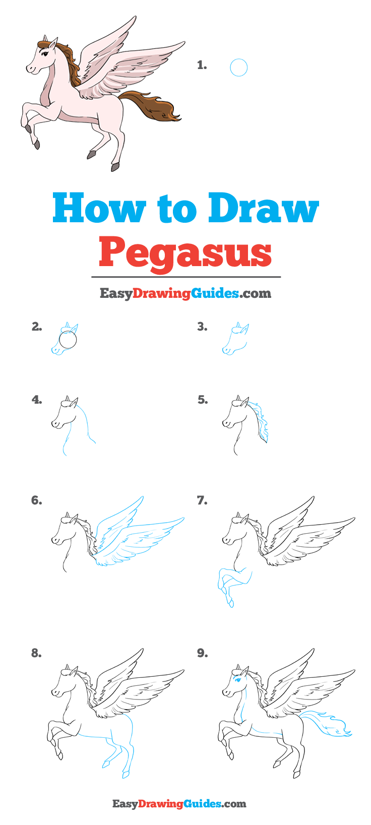 How to Draw Pegasus