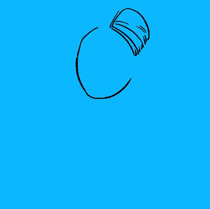 How to Draw Princess Leia Step 03